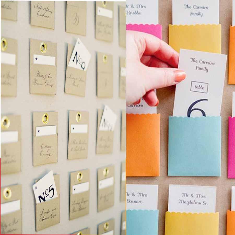 escort cards une chouette alternative aux plans de tables. Black Bedroom Furniture Sets. Home Design Ideas