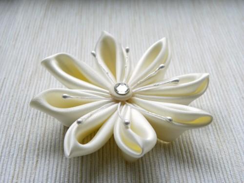 kanzashi-ivoire