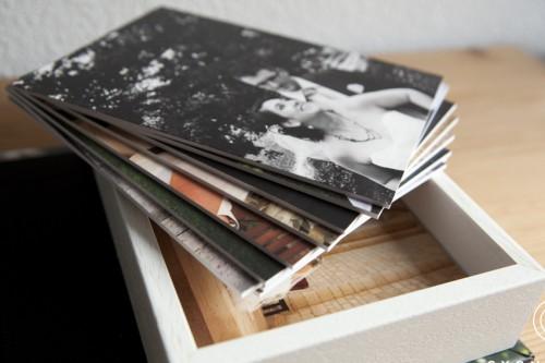 boîte en bois photo mariage