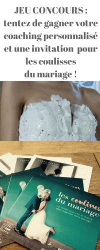 les coulisses du mariage
