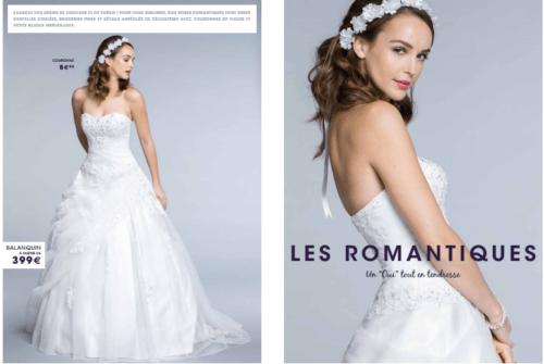 Tati mariage robe balanquin - La fabrique à mariage