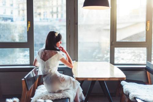 JUPE TOP LES MARIEES FOX-ensemble mariage civil - la fabrique à mariage