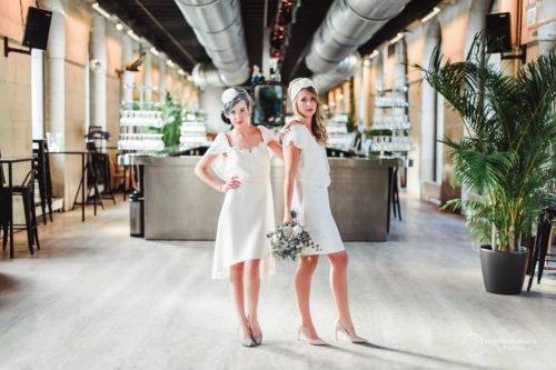 LES MARIEES FOX-mariage civil - la fabrique à mariage