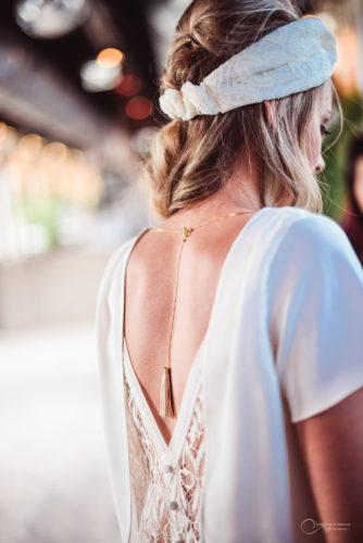 robe dos nu bijoux LES MARIEES FOX-mariage civil - la fabrique à mariage
