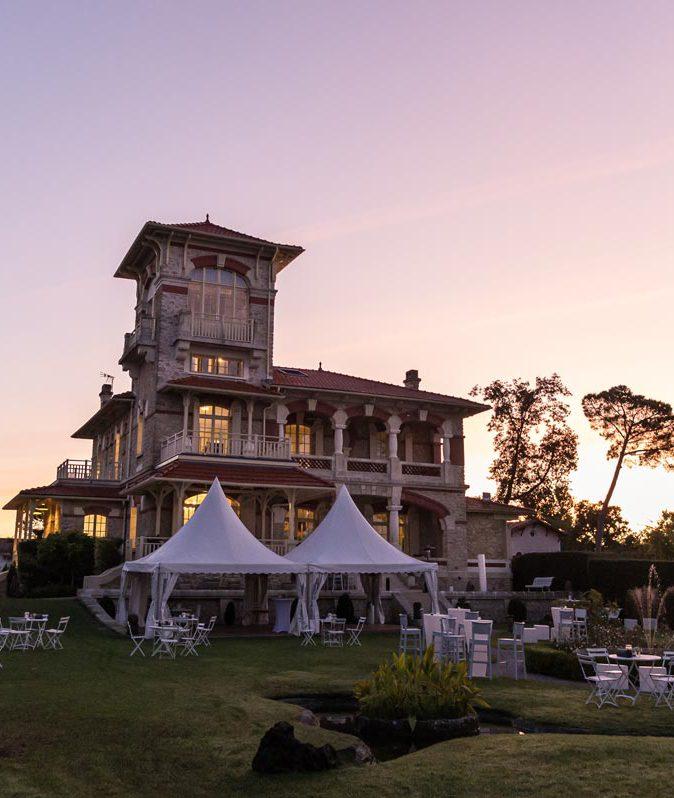 location villa bassin d'arcachon mariage
