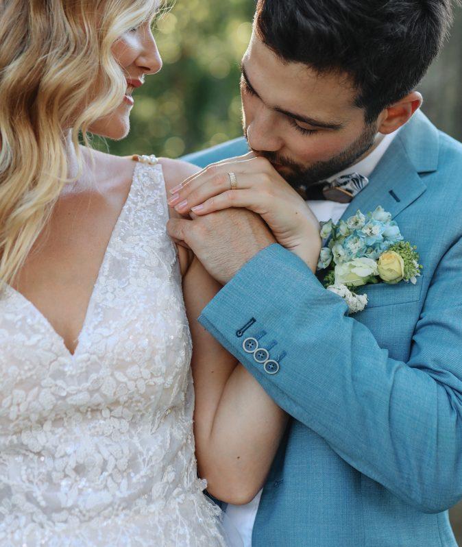 couple mariés alliance de mariage