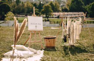 décoration de mariage boheme