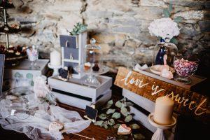 décoration de mariage vintage